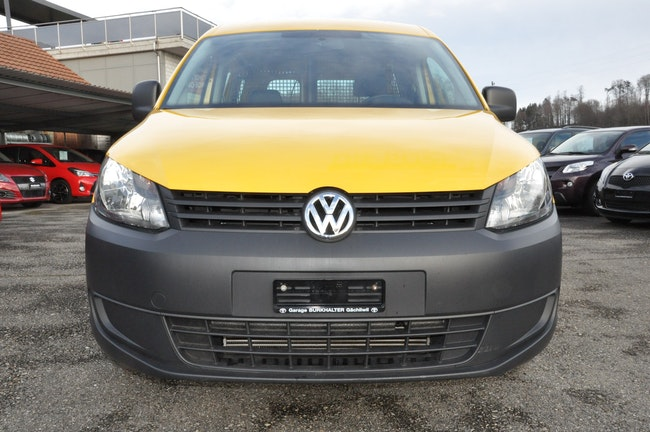 van VW Caddy 2.0 TDI 4Motion