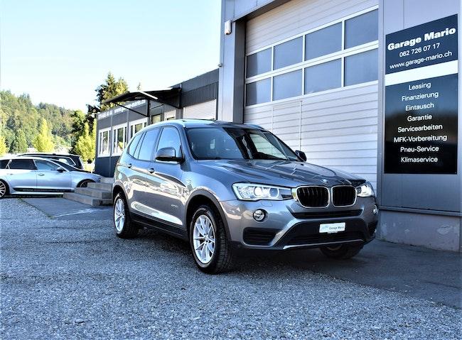 suv BMW X3 xDrive 20d Steptronic