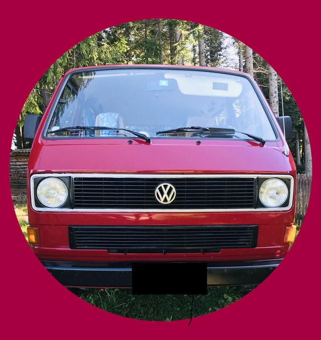 bus VW Typ 2 Typ2 Caravelle 2.1l