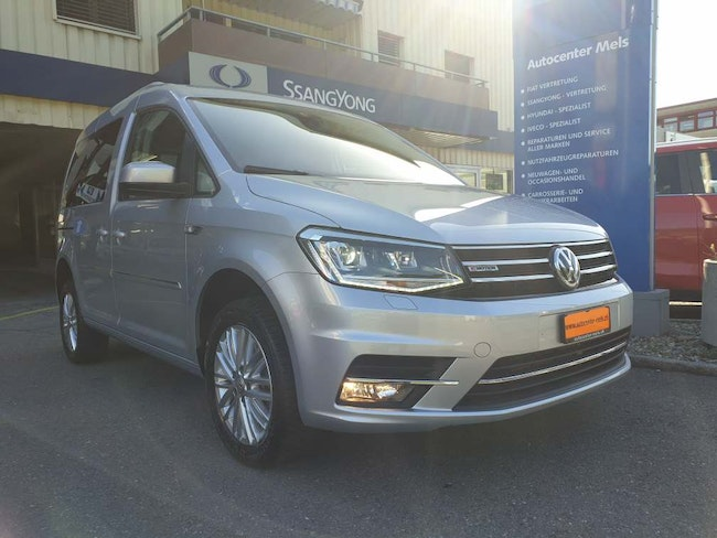 van VW Caddy 2.0 TDI Highline 4x4