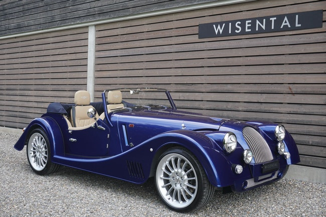 cabriolet Morgan Plus Six