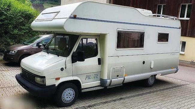 bus Peugeot J5 Wohnmobil - Einsteigen und los fahren