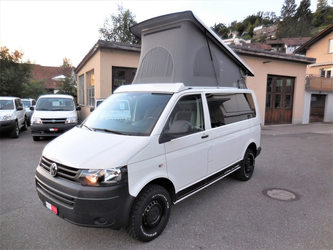 van VW T5 2.0 TDI 4Motion Summermobil