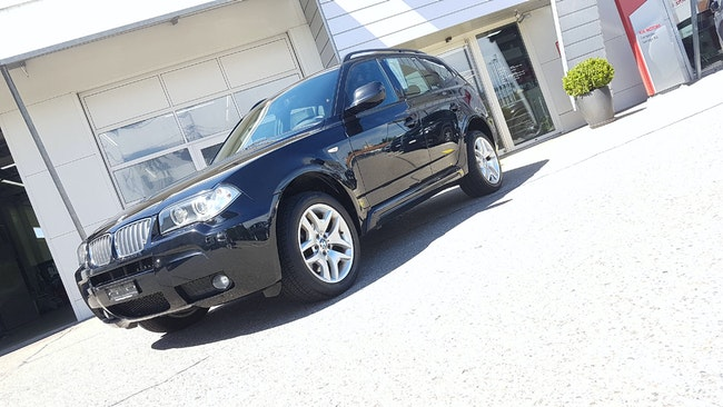 suv BMW X3 E83 30d xDrive