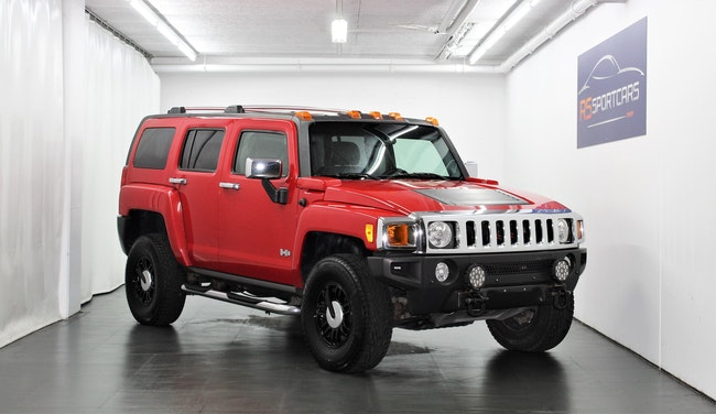 suv Hummer H3 3.5 RED AIR GLACIERS EDITION