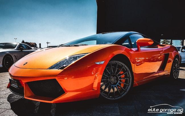 sportscar Lamborghini Gallardo LP560-4 Coupé Bicolore Serie Speciale E-Gear