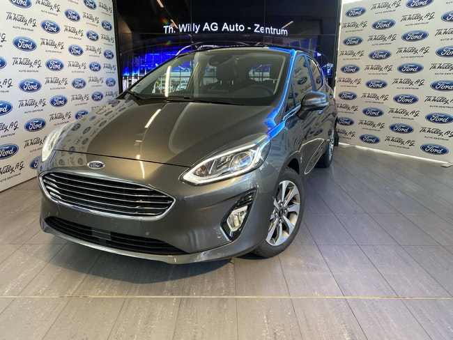 saloon Ford Fiesta 1.0 EcoB 125 Titanium