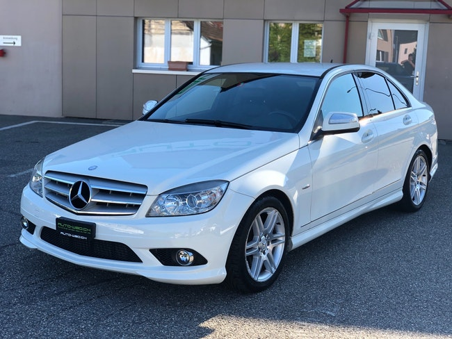 saloon Mercedes-Benz C-Klasse C 180 Kompressor White Star