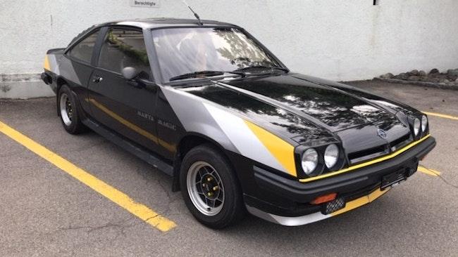 coupe Opel Manta B 2000 GT black magic