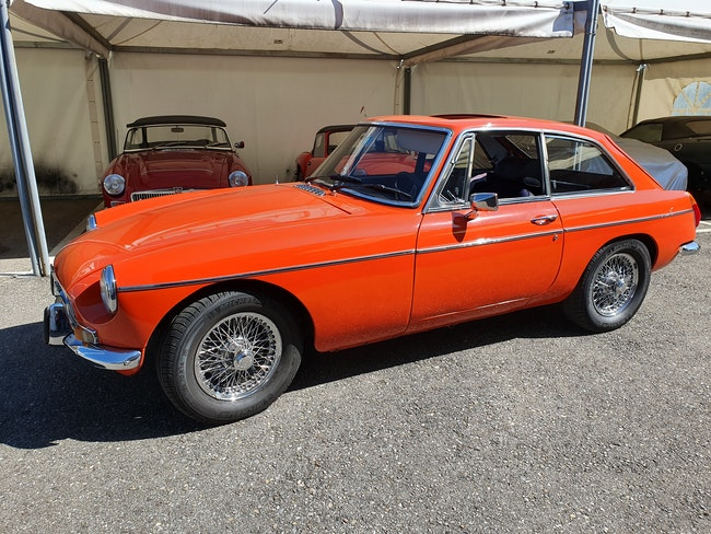 coupe MG MGB GT