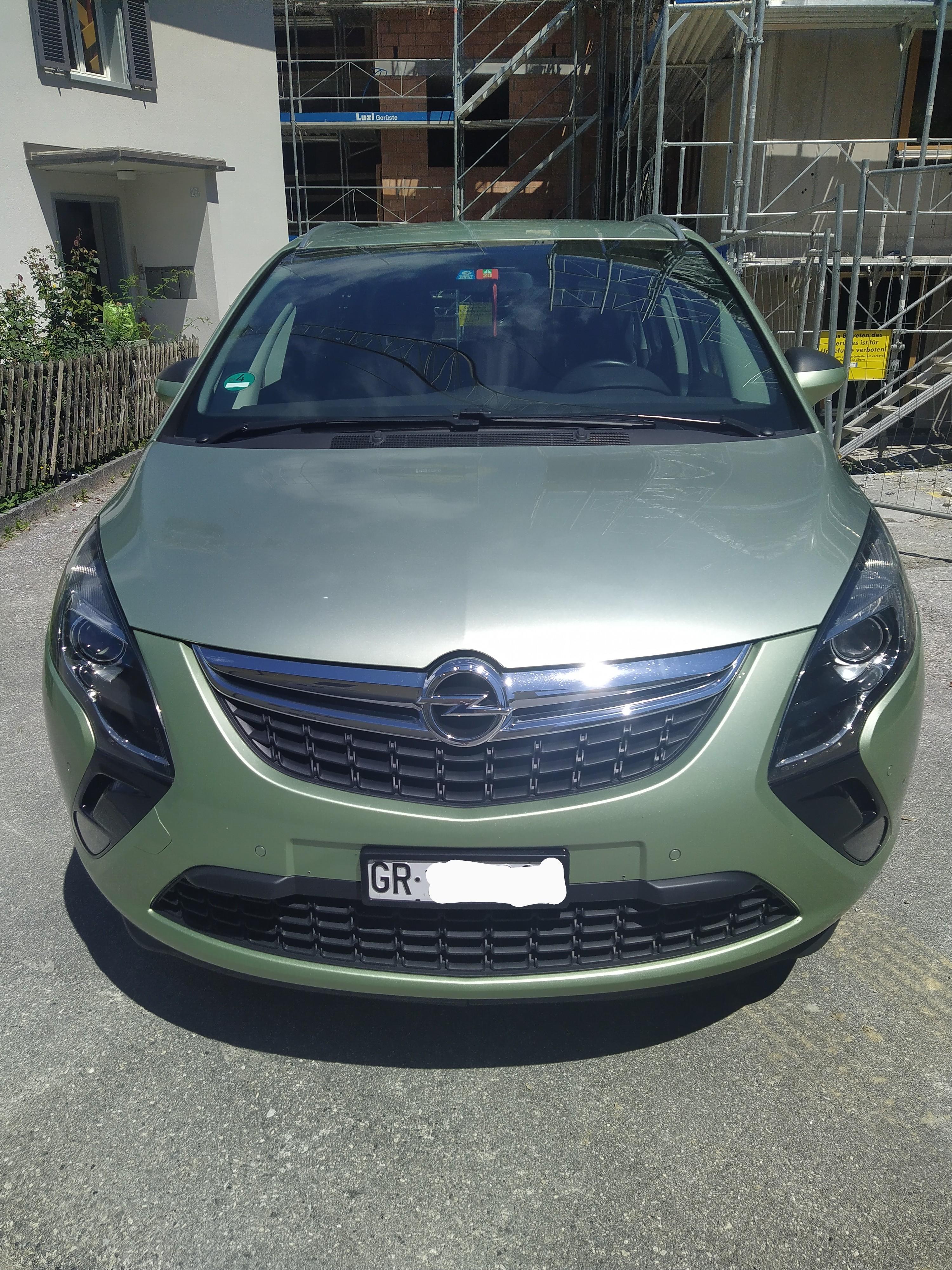 Opel Zafira Tourer 2.0 CDTI 110 167000 km für 6600 CHF