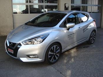 saloon Nissan Micra 1.5 dCi Tekna