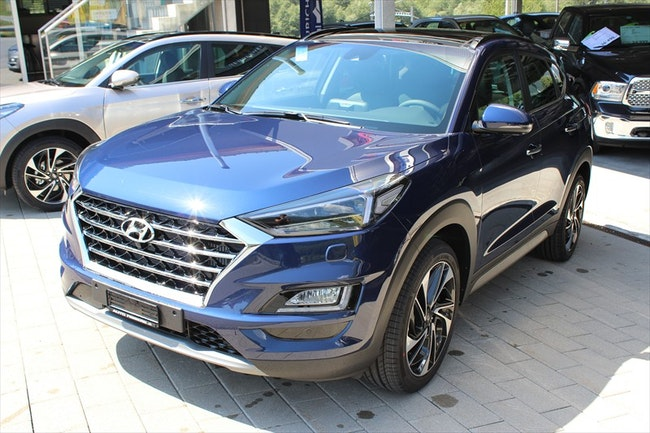 suv Hyundai Tucson 1.6 TGDI Luxury Edition 4WD TUCSON BENZIN Modell 2019-