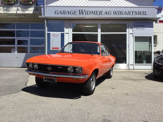 coupe Opel Manta A 1600 S