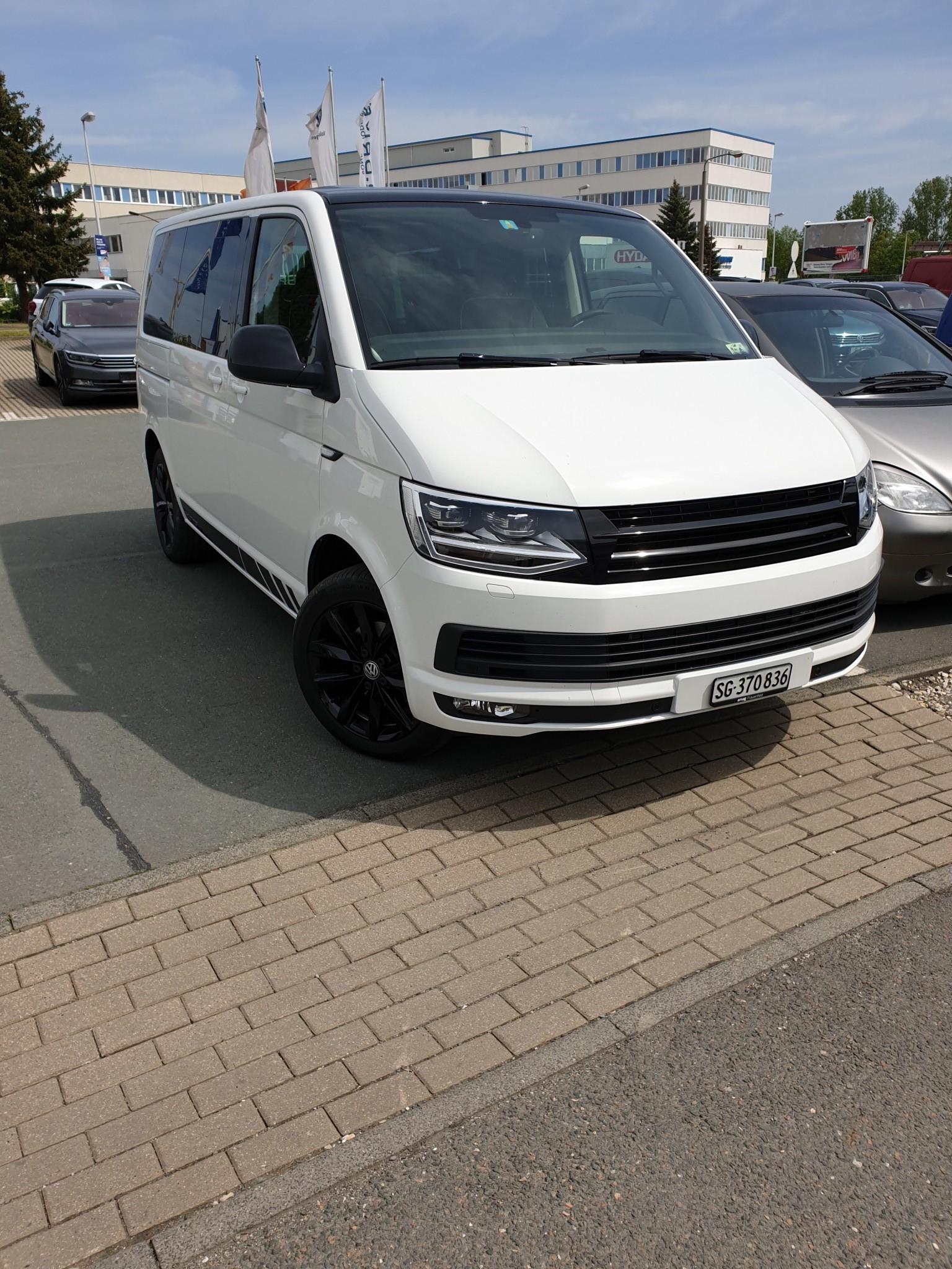 bus VW T6 Multivan Edition , Schaltgetriebe , Standheizung