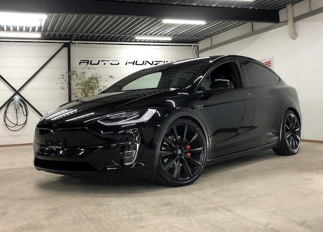 suv Tesla Model X 90 D Black-Performance 772 PS Ludicrous