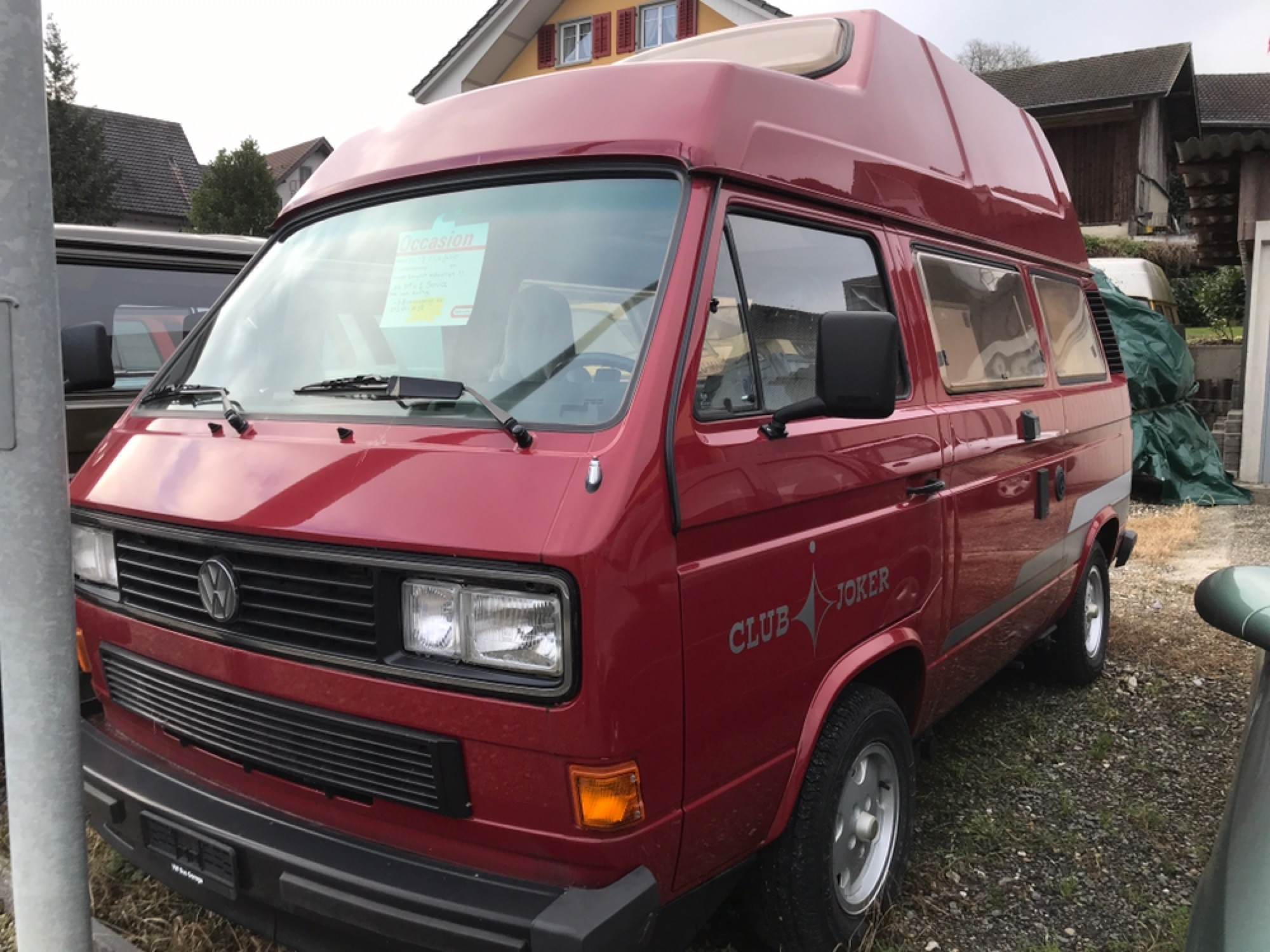 pickup VW Typ 2 Bus Camper T3, Typ2