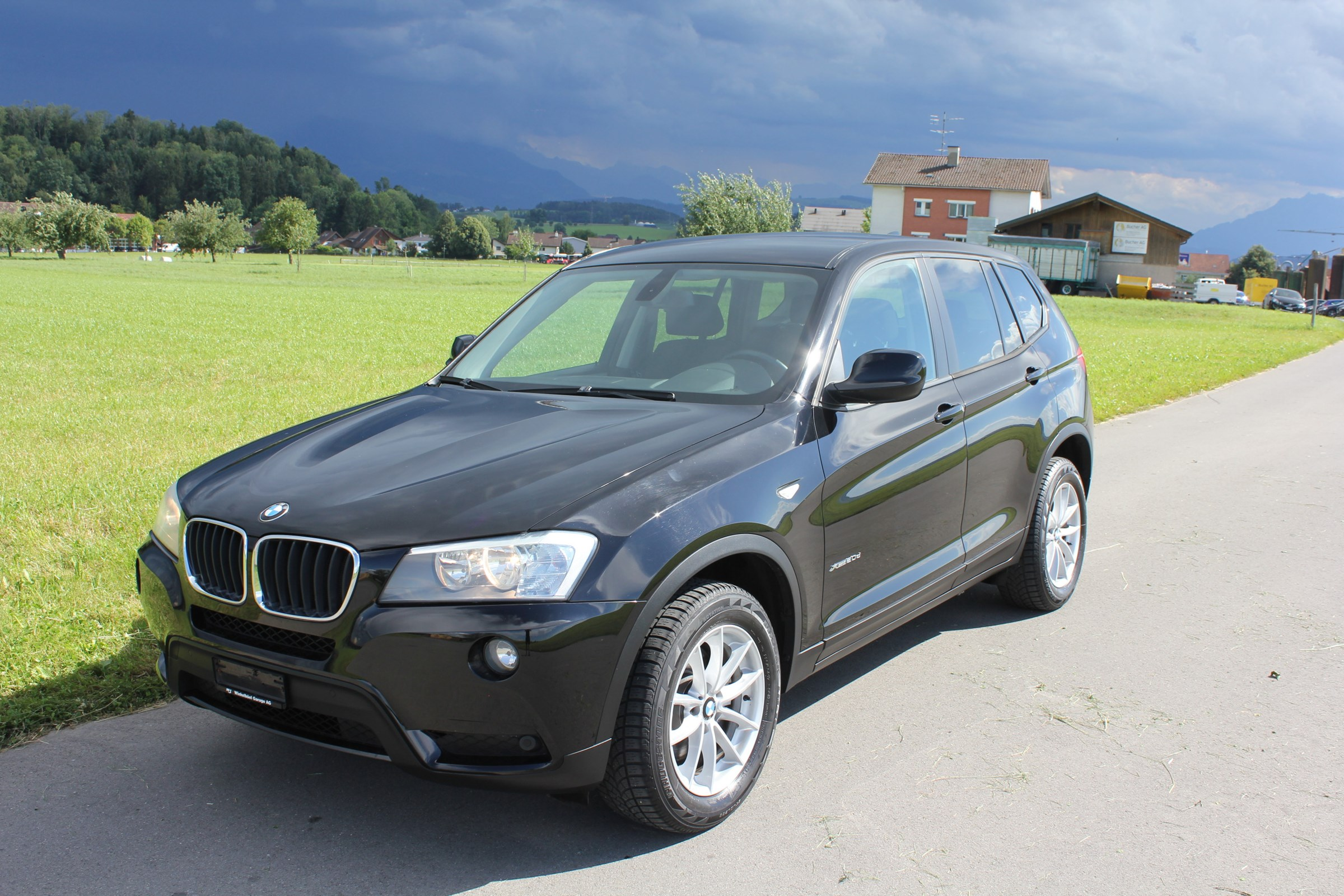 suv BMW X3 xDrive 20d