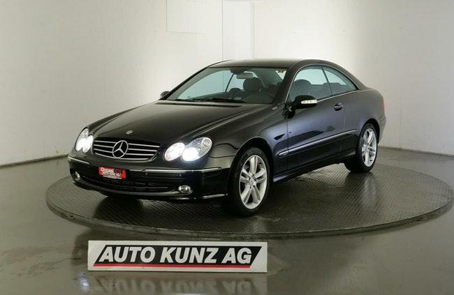 coupe Mercedes-Benz CLK 200 K. Sport Avantgarde Harman Kardon