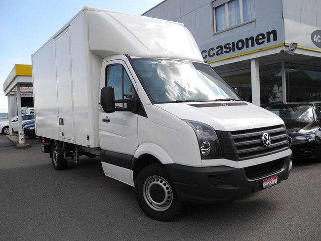 van VW Crafter 35 2.0 TDI