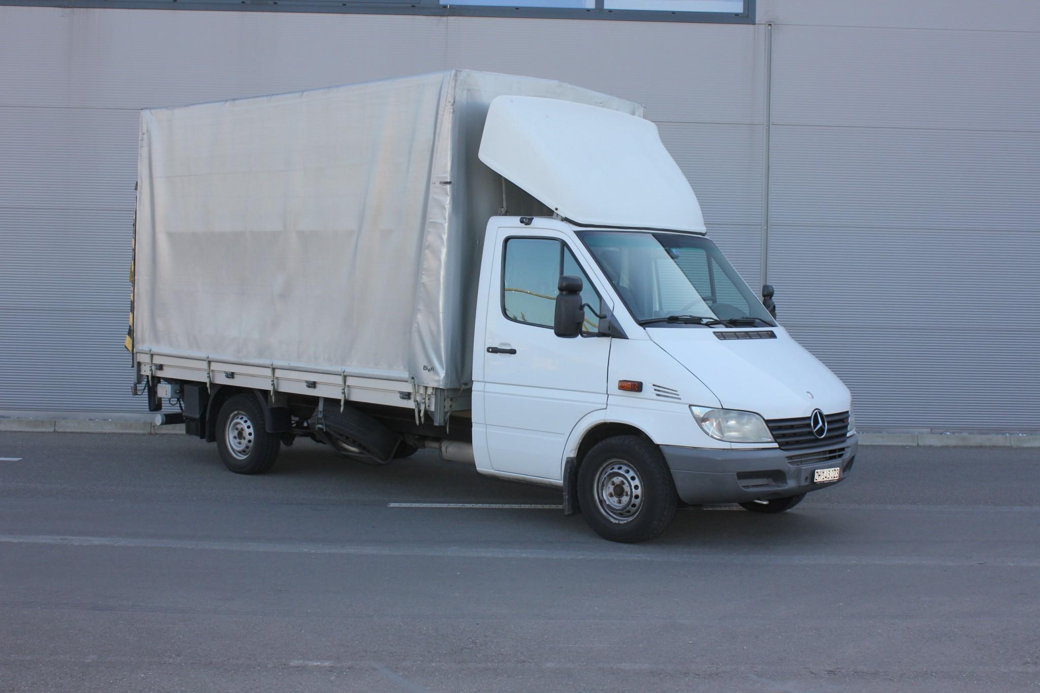 bus Mercedes-Benz Sprinter Mercedes Sprinter 316CDI / Verdeck mit Hebebühne 750 kg