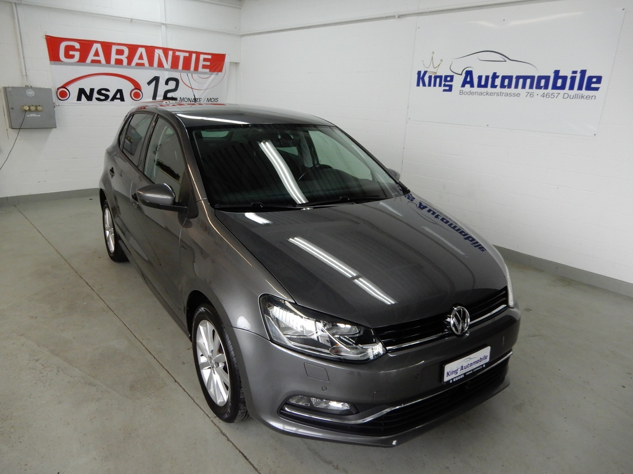 saloon VW Polo 1.2 TSI BMT Lounge DSG