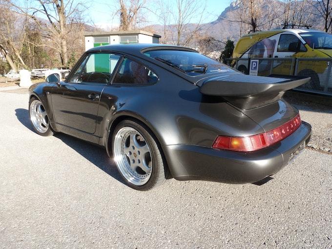Porsche 911 - 964 Turbo 3.3 (965) - CH Car - MFK 12/2018 10'000 km 140'964 CHF - acheter sur carforyou.ch - 1