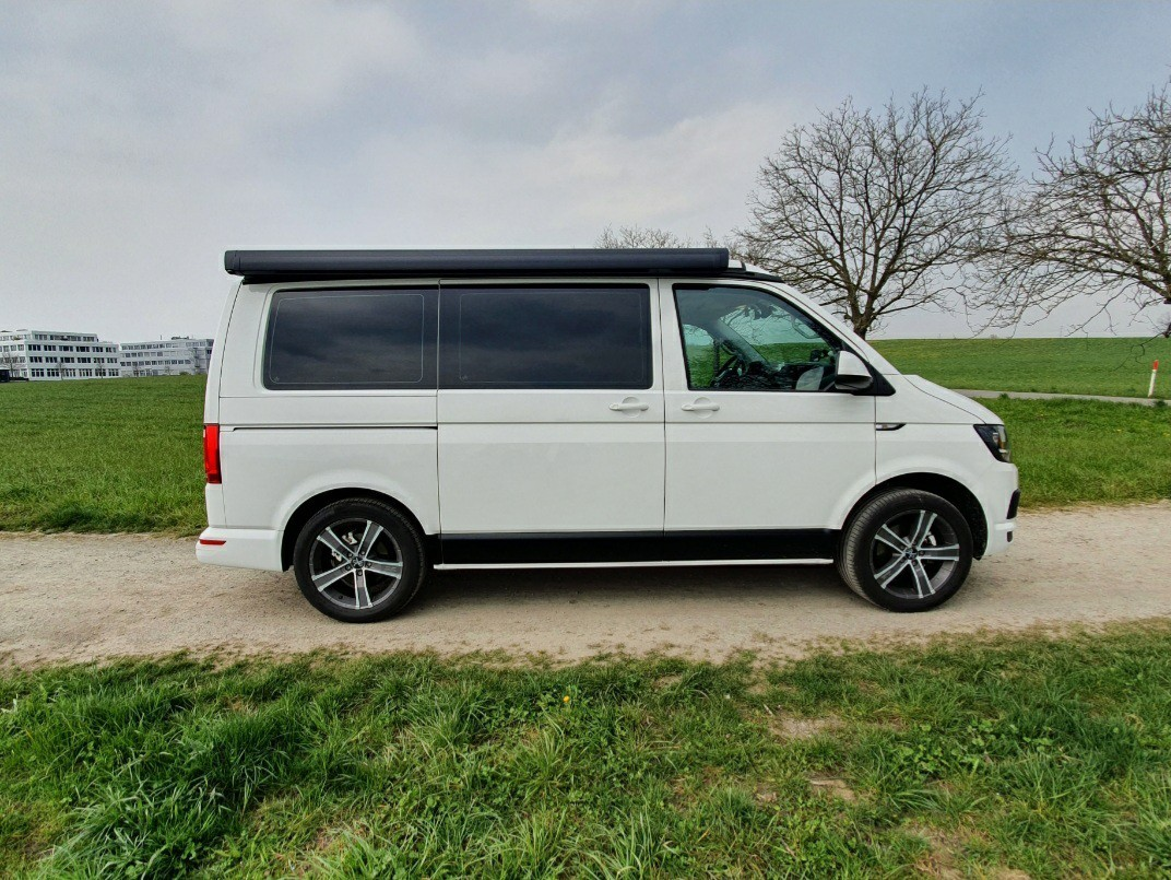 bus VW T6 California Beach 2.0 TDI, Jg. 2017, 65'000km, weiss