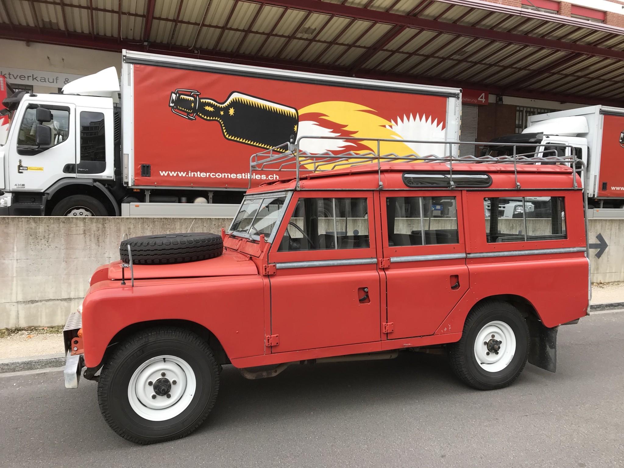 bus Land Rover Defender Serie III 109 (mit Veteranen Ausweis)
