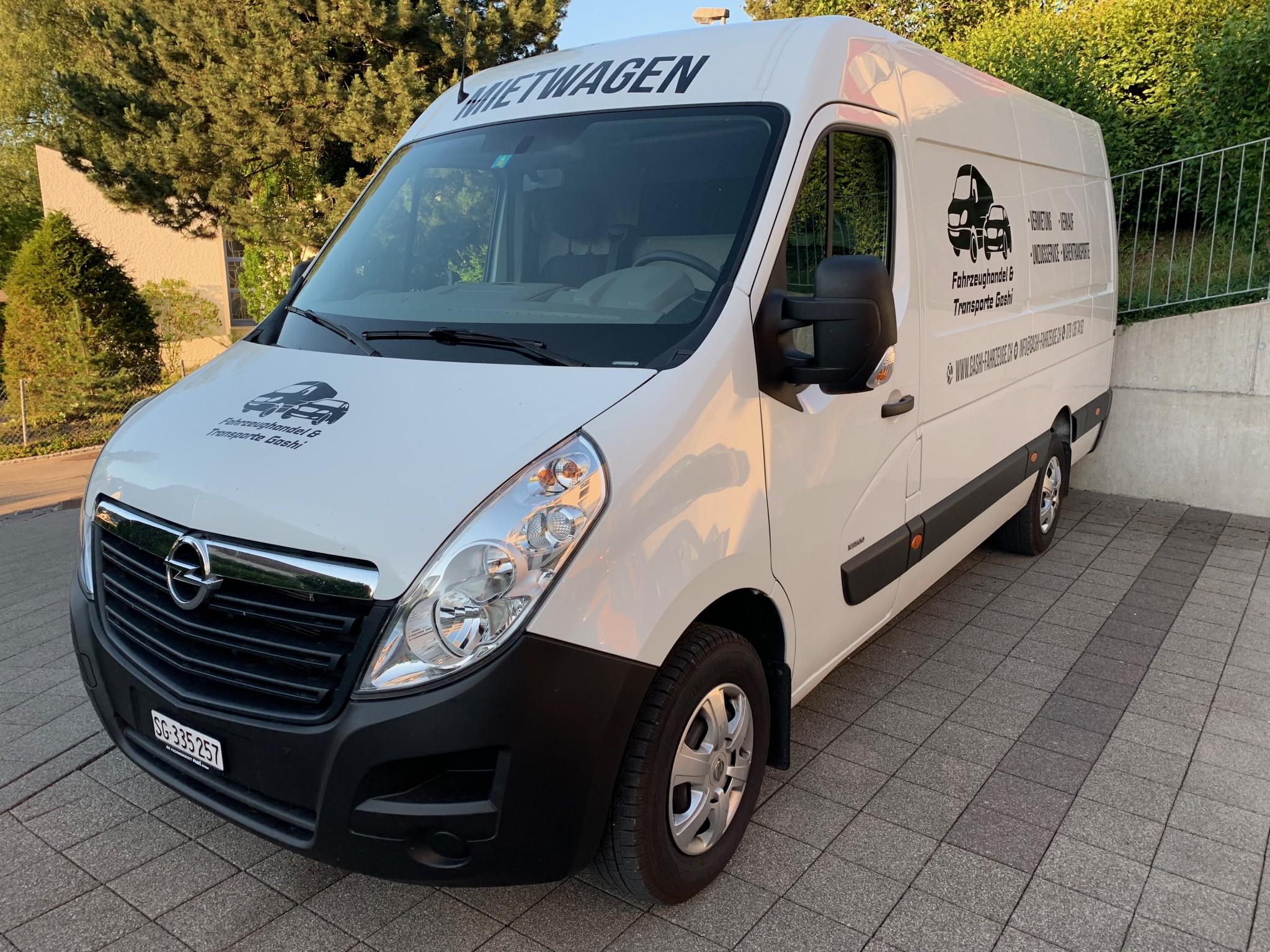 bus Opel Movano 2.3 Diesel ab MFK und Service