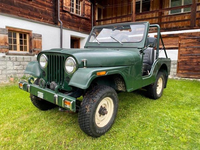 cabriolet Jeep CJ Willys Jeep Cj 3A