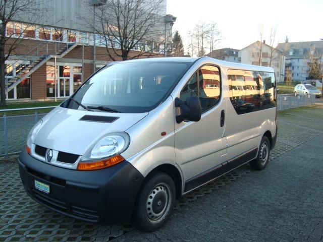 bus Renault Trafic 9 Plätzer Mit Klima