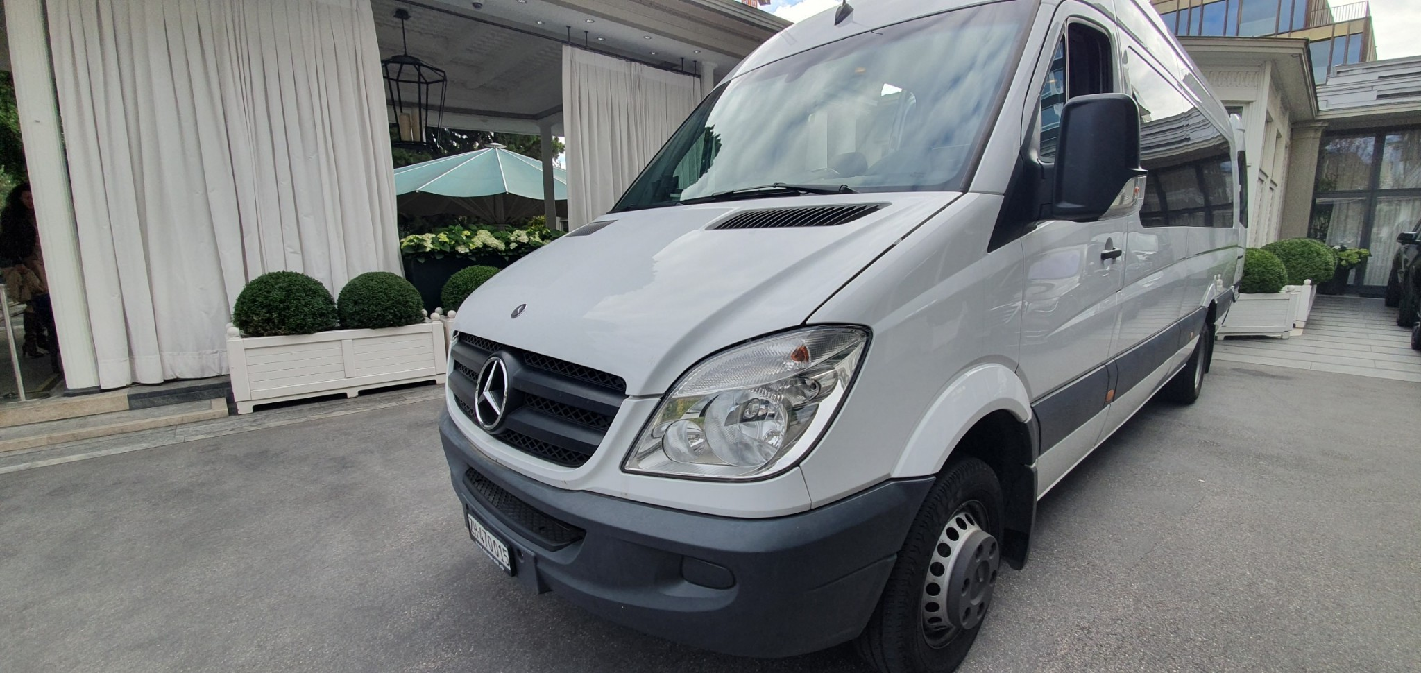 bus Mercedes-Benz Sprinter Mercedes Benz Sprinter 516, Passagier, 16+1 sitzen.