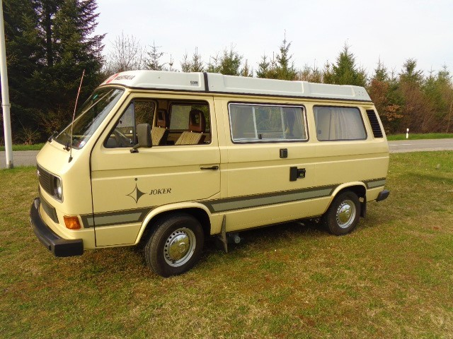 pickup VW Typ 2 Bus T3 Westfalia Sammlerfahrzeug