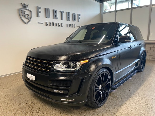 suv Land Rover Range Rover 5.0 V8 SC Autobiography Automatic