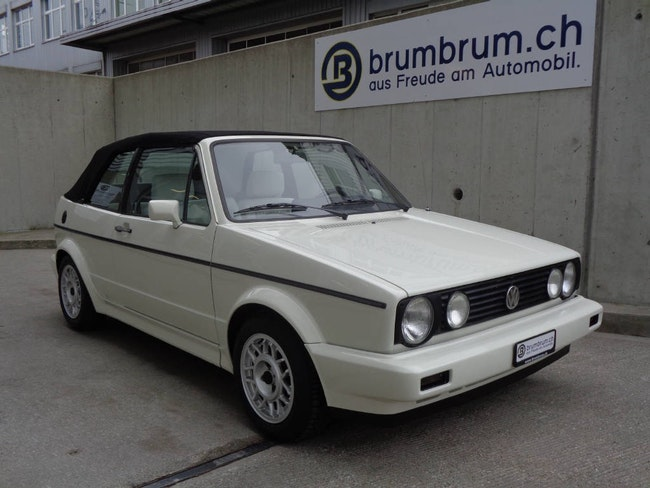 cabriolet VW Golf 1800 GL White Special