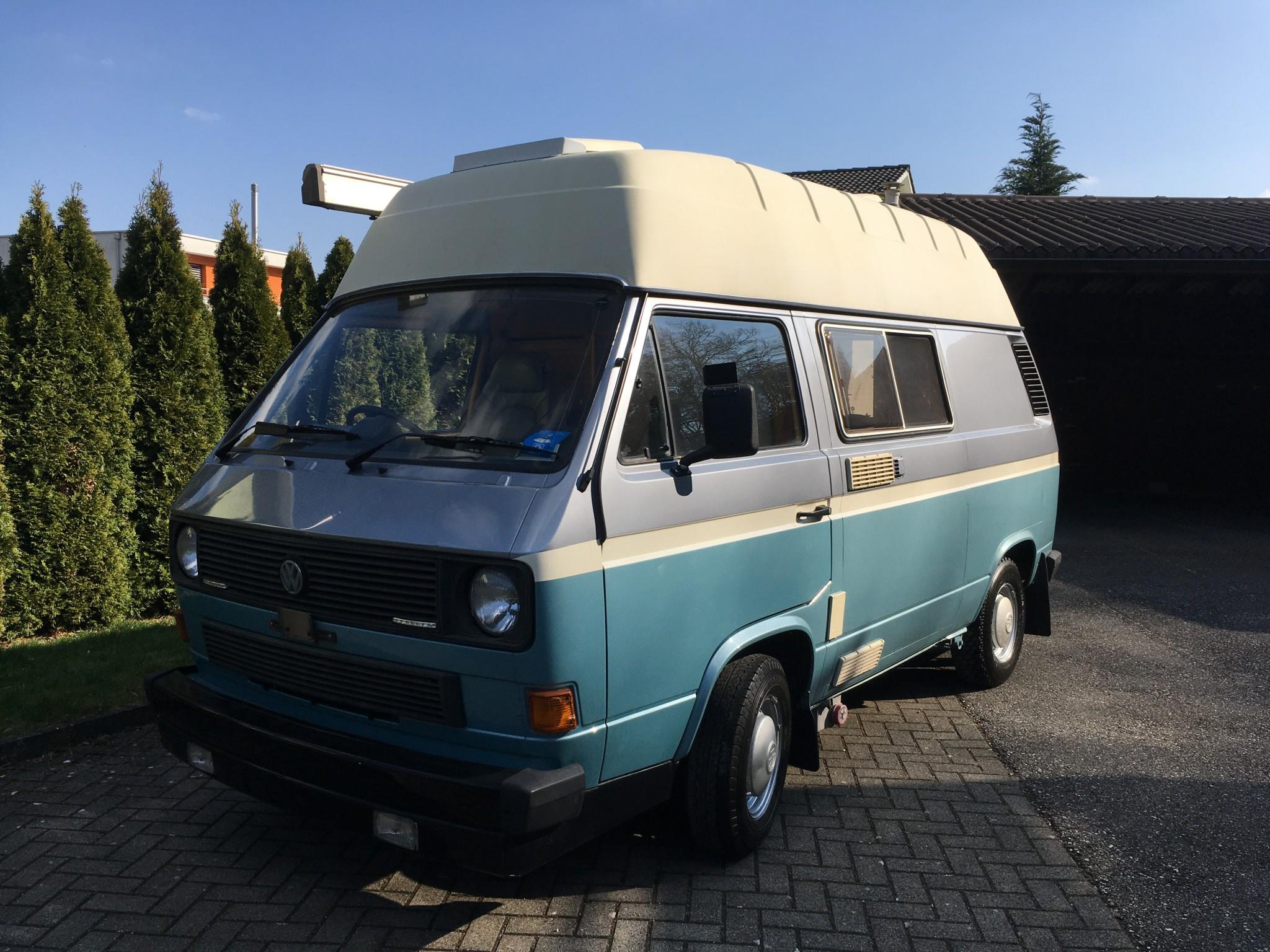 pickup VW Typ 2 T3 Campingbus