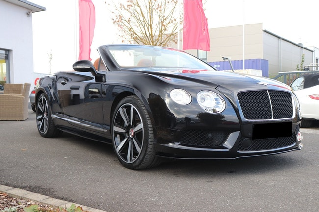 cabriolet Bentley Continental GTC 6.0 V12