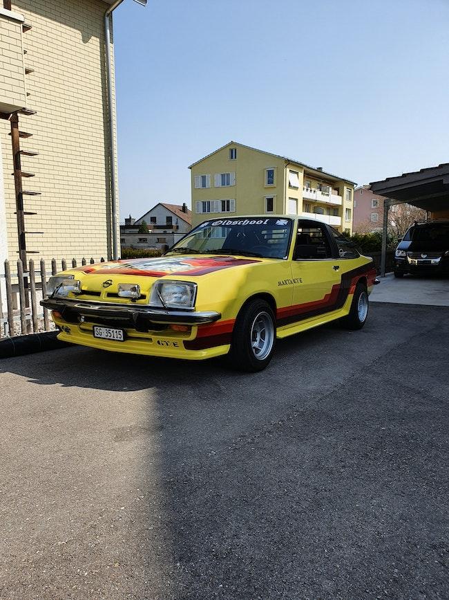 coupe Opel Manta 2.0 GT/E