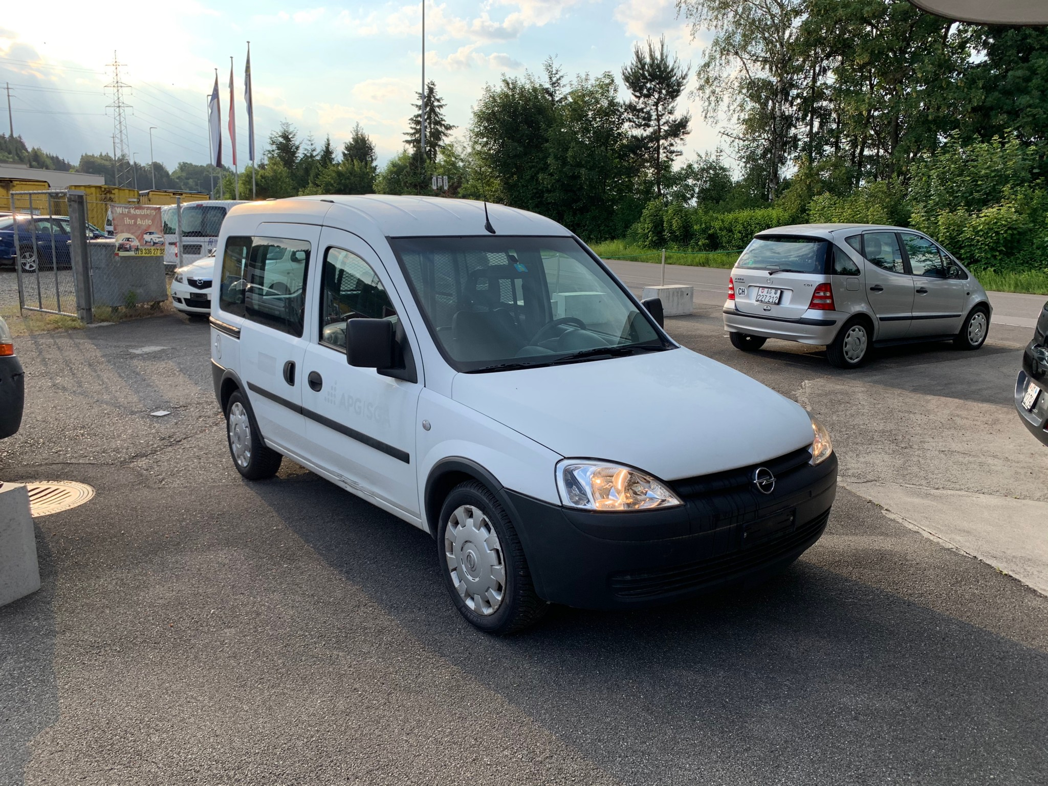 bus Opel Combo C 16 CNG