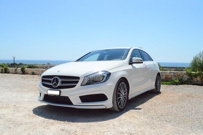saloon Mercedes-Benz A-Klasse A 180 BlueEF AMG Sport