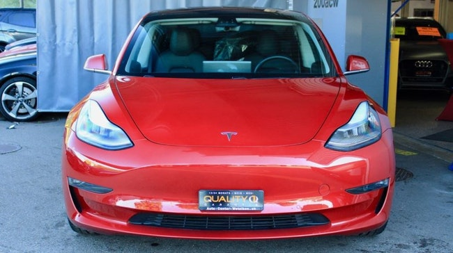 saloon Tesla Model 3 Performance Dual Motor AWD