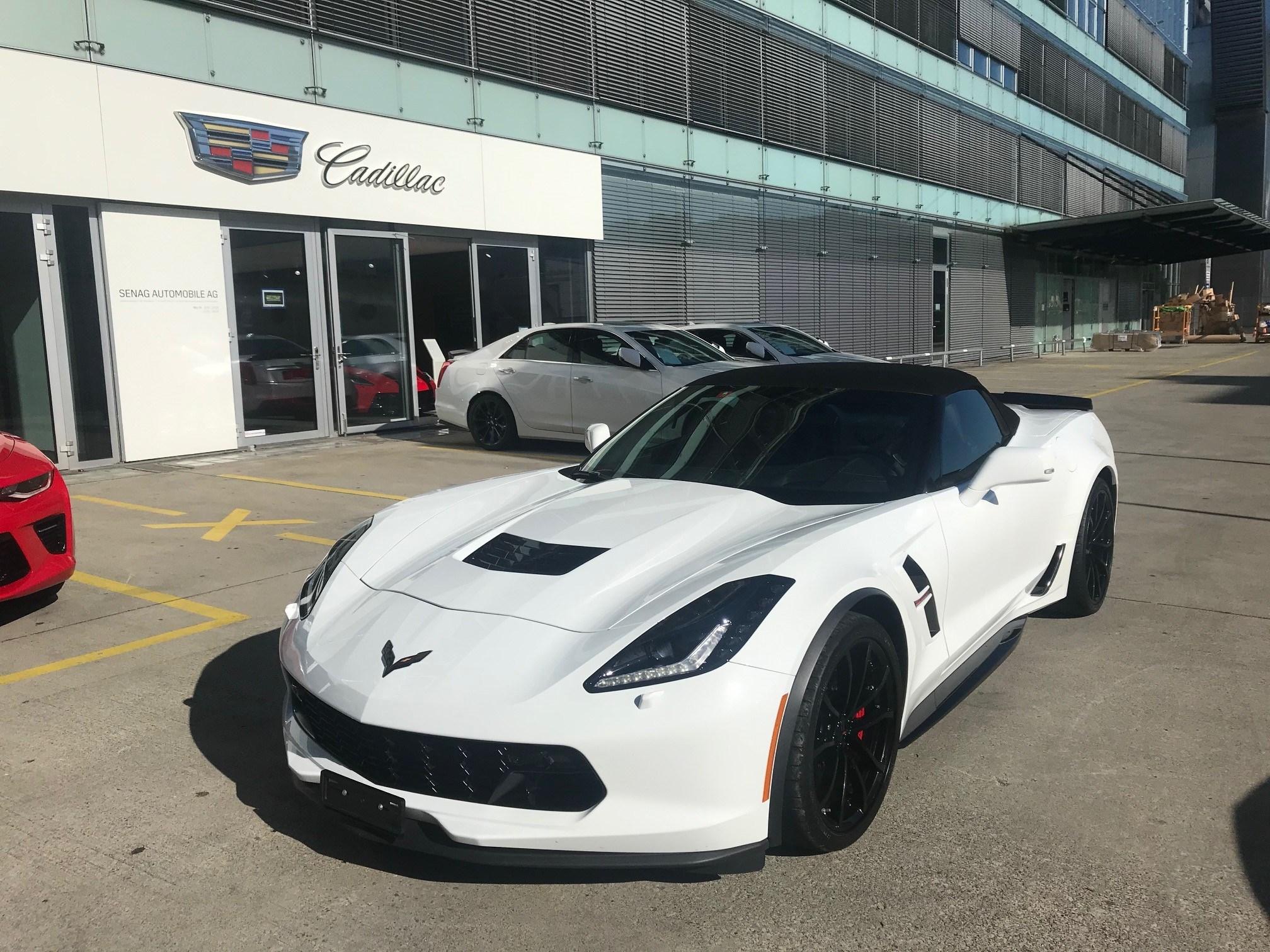 cabriolet Chevrolet Corvette Convertible Grand Sport 3LT Automatic