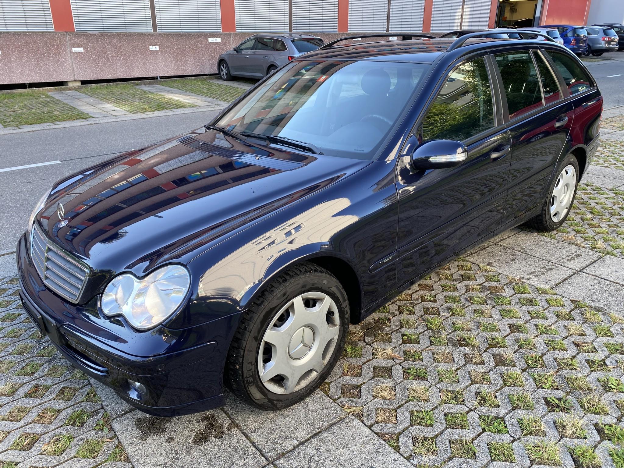 saloon Mercedes-Benz C-Klasse C180 KT