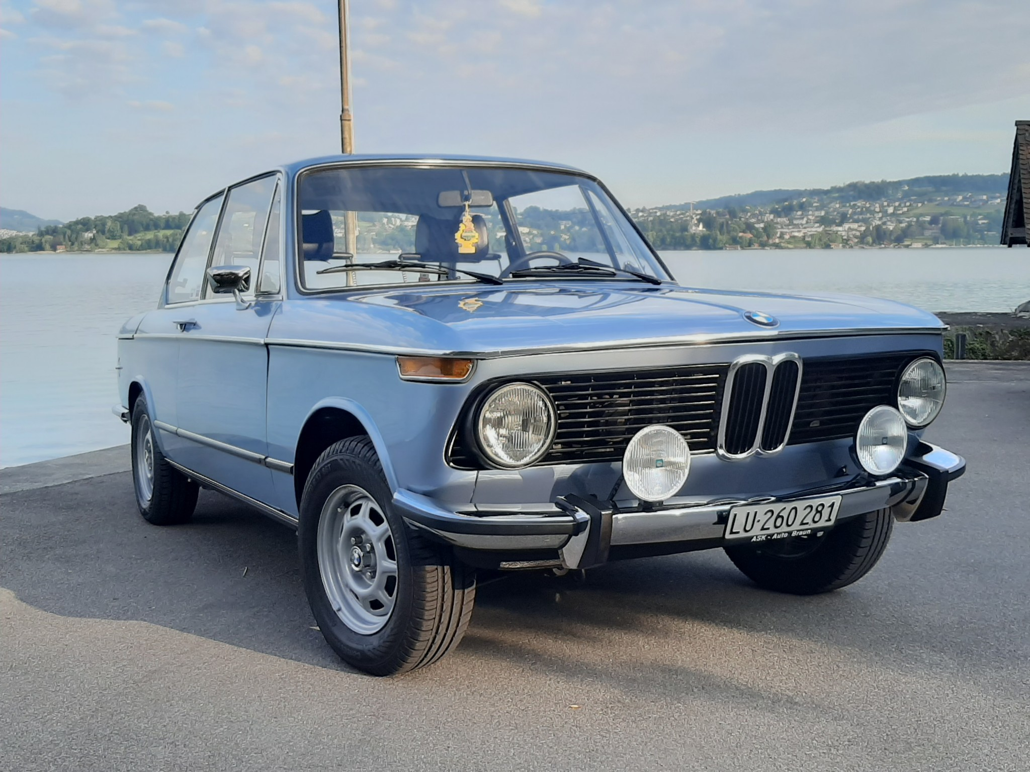 saloon BMW 2er 2002 Original Zustand Veteran