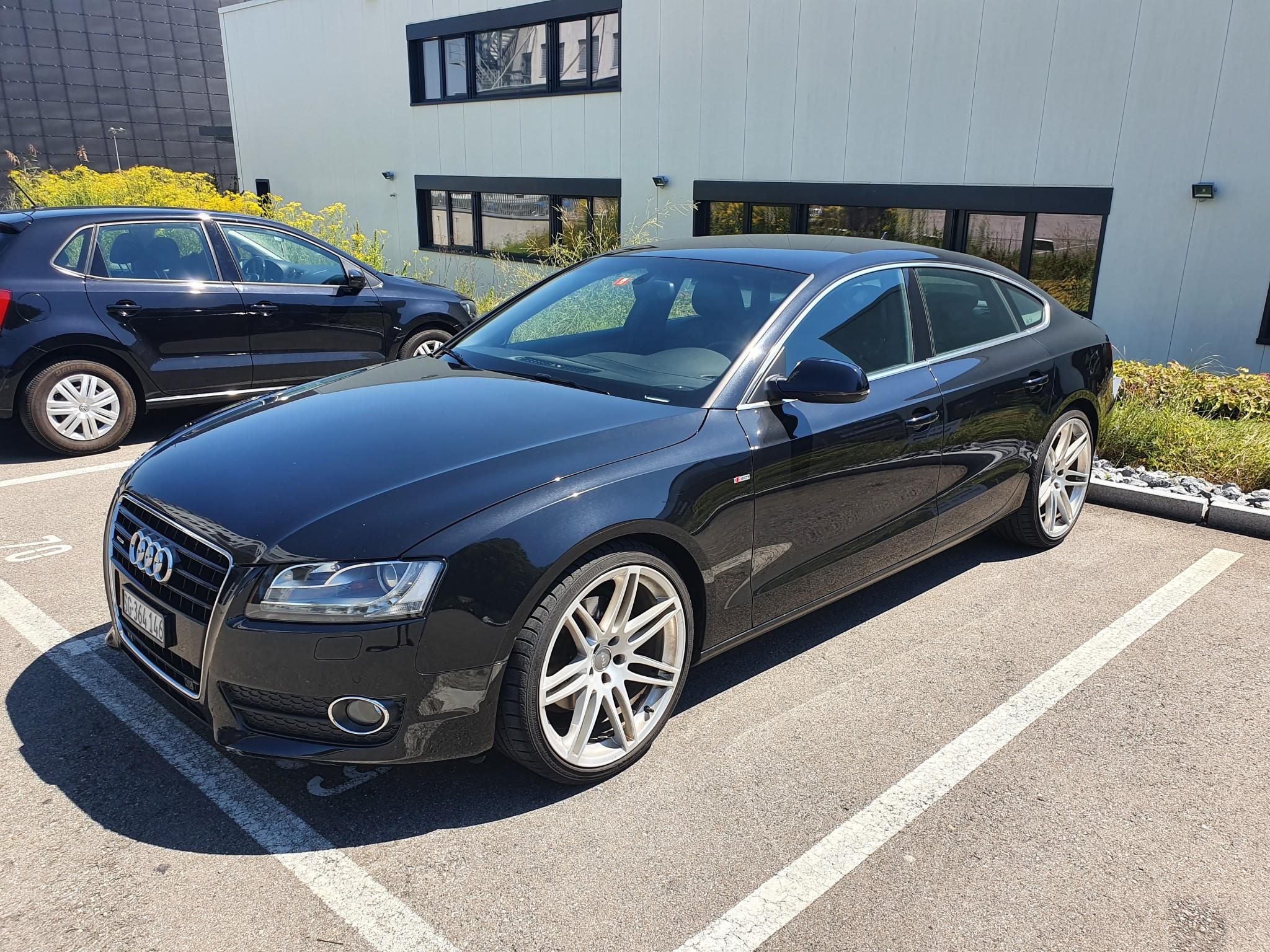 saloon Audi A5 3.2 SB s-line