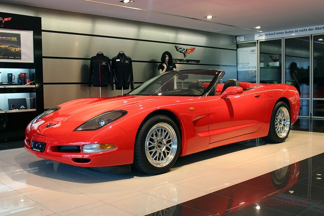 cabriolet Chevrolet Corvette Convertible 5.7 Pack B