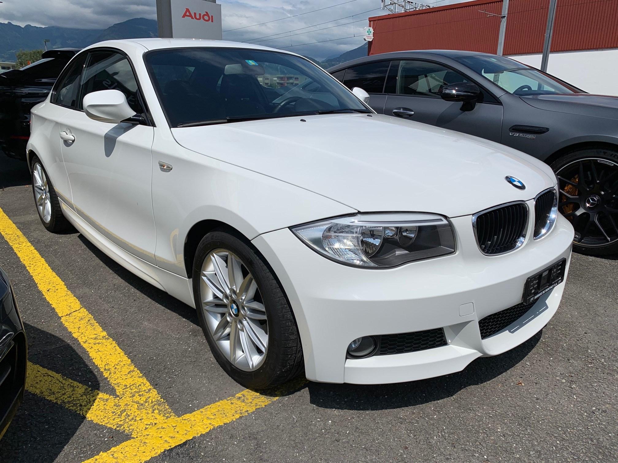coupe BMW 1er 118d Coupé