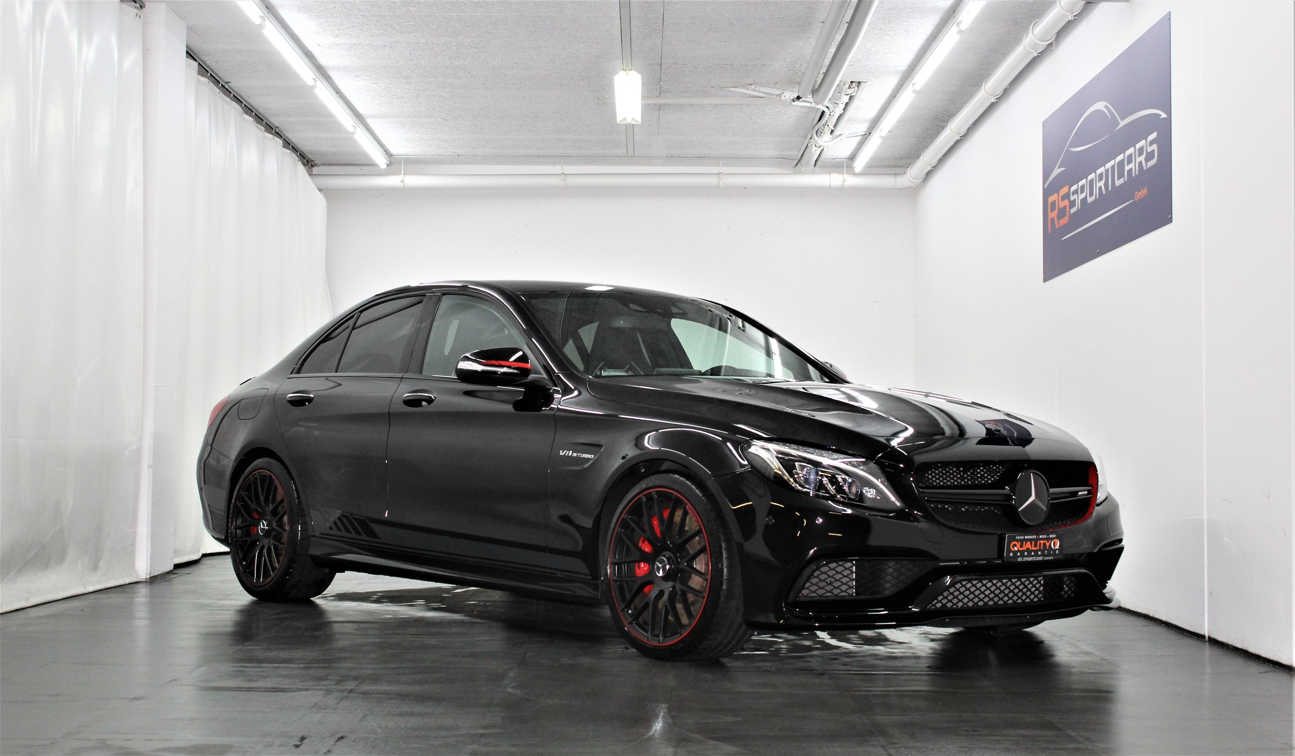 saloon Mercedes-Benz C-Klasse C 63 AMG C 63 S AMG Edition 1 Speedshift 510