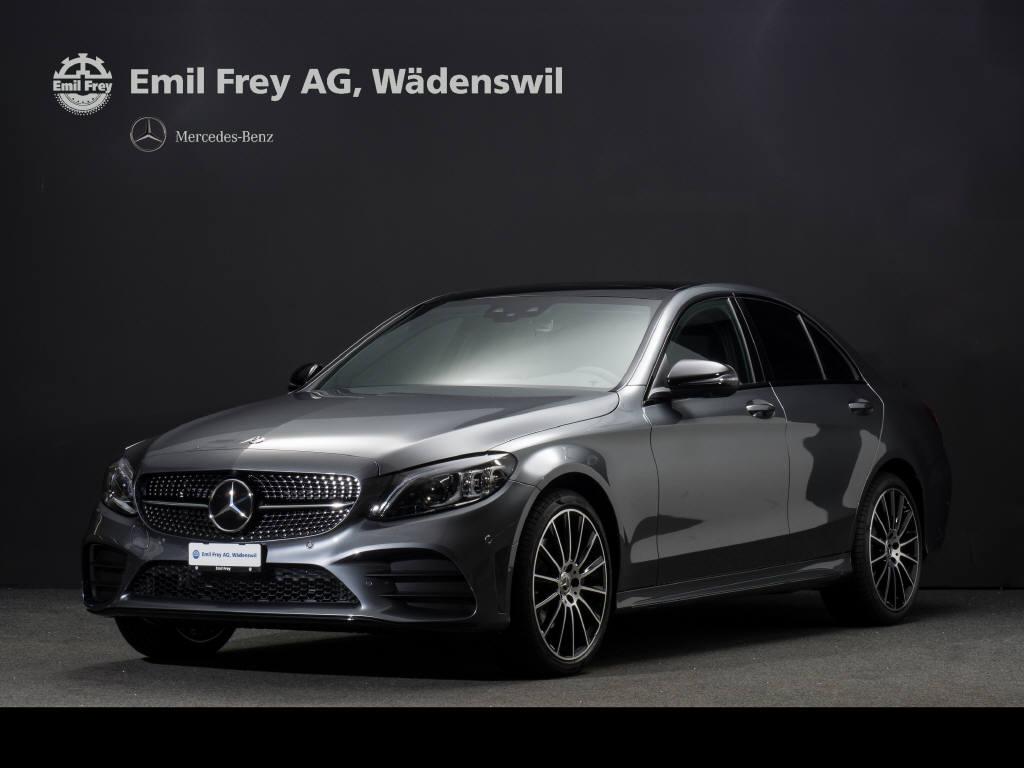 saloon Mercedes-Benz C-Klasse C 200 Swiss Star AMG Line 4m